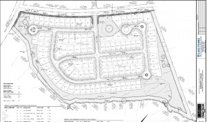 Ryland Homes sketch plan for Kimbrell Road property