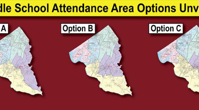 Middle School Boundary Options Announced
